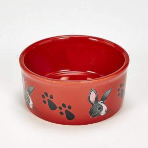 rabbit food bowl